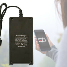 18650 USB Battery Charger Fast Charge Dual for 3.7V 16340 14500 26650 J1
