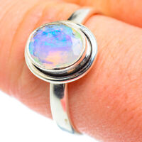 Ethiopian Opal 925 Sterling Silver Ring Size 10.25 Ana Co Jewelry R52209F