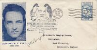 ANT10258) FDC USA 1935, Cover from the second Byrd Antarctic Expedition, signed