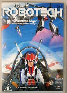 Robotech Extra - Macross Saga 1: Elements Of Robotechnology (DVD, 2002) LIKE NEW