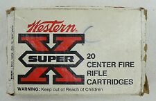 WINCHESTER-WESTERN SUPER X 270 CAL EMPTY RIFLE AMMO BOX