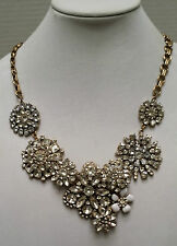 J Crew Flower Lattice Necklace