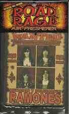 RAMONES wanted 2002 AIR FRESHENER official merchandise SEALED usa IMPORT