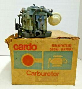 REMANUFACTURED ROCHESTER  2BBL 2GV CARBURETOR 1969 CHEVROLET 307 (5.0) V8