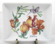 German Fortessa Fortaluxe Pomegranate Butterfly Trinket Tray Dish Small Germany