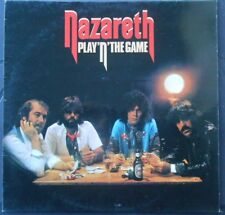 Nazareth Play 'n' The Game 33T LP france french pressing 9103 207 ufo label