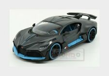 Bugatti Divo 2018 Matt Grey Light Blue MAISTO 1:24 MI31526
