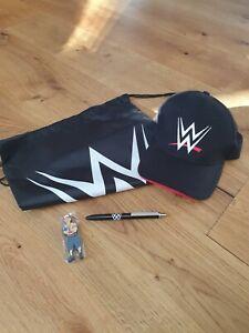 Wwe Base Ball Cap Hat Wrestling draw string bag pen usb