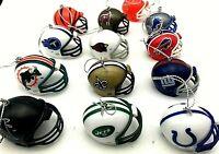 2020 (YOU PICK) NFL Team Football Helmet Christmas Tree Ornament CHOOSE A TEAM