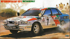 Mitsubishi Galant Vr4 Safari Rally 1992 Plastic Kit 1:24 Model HASEGAWA