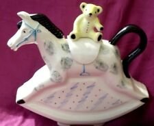 Richard Parrington child's  Rocking Horse teapot