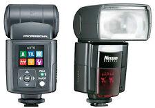 Nissin DI866 Mark II Blitz für alle Canon EOS Modelle Neuware DI-866 Blitzgerät