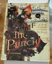 Mr Punch by Neil Gaiman and Dave McKean Tpb- Vertigo Dc Comics 1995 Gn