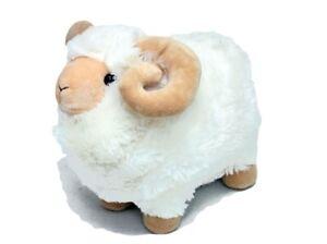 "Ram standing soft plush toy MACARTHUR 10""/25cm medium stuffed animal NEW"