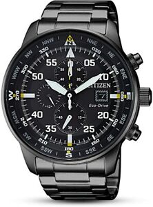 Citizen Eco-Drive Men's Chronograph Watch - CA0695-84E NEW