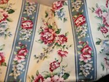 """Mill Creek Floral Fabric 4 Yds.X 56""""W Enchanted Gardens Collection Scotchgrd #33"""
