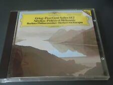 Grieg Peer Gynt Suites 1 & 2 Sibelius  Karajan DGG CD