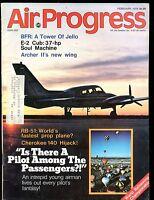 Air Progress Magazine February 1976 Archer II's New Wing EX w/ML 120316jhe