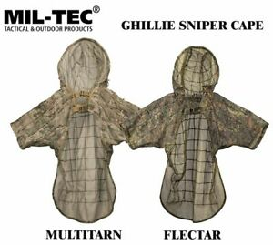 Mil-tec GHILLIE SNIPER CAPE Hunting, Military, Airsoft, FLECTAR and MULTITARN
