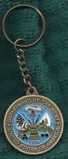 UNITED STATES ARMY SERGEANT MAJOR CHALLENGE COIN STYLE KEY CHAIN