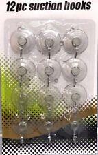 12PC claro ganchos de ventana lechón Ventosa Ganchos de Succión Colgante de Iluminación