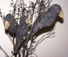 PRIMITIVE BIG BEAK CROW ORNIES ~ MAILED PATTERN ~ PERFECT PRIM QUICK AND EASY!!