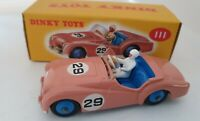 Atlas Edition  Dinky Triump TR2 Sports 111 D'agostino Boxed Mint.