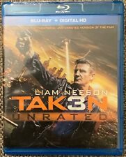 TAKEN 3 UNRATED BLU RAY FREE WORLD WIDE SHIPPING BUY IT NOW LIAM NEESON ACTION