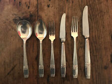 WESTMINSTER design ELKINGTON silver service Cutlery 6 piece place setting