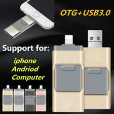 Any iphone OTG Color Pendrives Memory Stick Mobile 16 32 64 128 256 GB Capacity