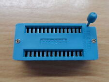 """4pack 28pin ZIF socket  for DIL ICs Textool 0.6"""" Zero Insertion Force wide DIP"""