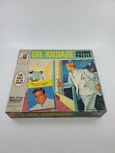 Vtg 1962 TV's Dr. Kildare Jigsaw Puzzle #2 600+  Milton Bradley 4318 (T8)