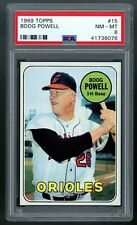 1969 Topps #15 Boog Powell PSA 8 NM-MT #41736076 *DEC20*