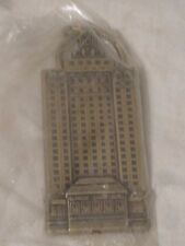 vintage Claridge Casino Hotel ornate metal keychain key chain