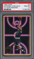 Anfernee Penny Hardaway 1993 Fleer Basketball Rookie Card #2 PSA 10 GEM MINT