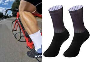 Sports Footwear Cycling Socks 4 Pairs Breathable Road Bicycle Racing Compression