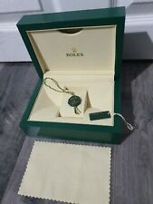 Rolex Watch Box With Tag & outer box in good condition