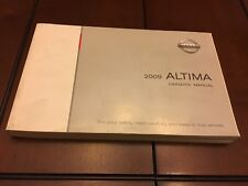 2009 NISSAN ALTIMA FACTORY OWNERS MANUAL QUALITY PRODUCT FREE SHIPPING OEM