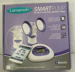 Lansinoh SmartPump Double Electric Breast Pump with Bluetooth
