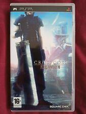 Crisis Core: final Fantasy VII (Sony PSP, 2008) - Versión Europea