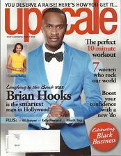 Brian Hooks Upscale Magazine Aug 2013 Hill Harper Kelly Rowland Kinnick Sky