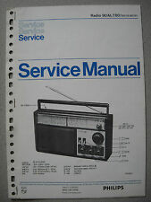Philips 90 AL780 Kofferradio Service Manual