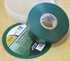 "Raychem Professional Grade Vinyl Electrical Tape 3/4"" x 66Ft - Green"