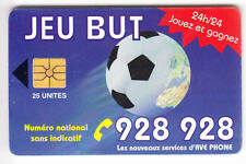 AFRIQUE  TELECARTE / PHONECARD .. MAROC 25U AVE FOOTBALL SOCCER GEM1A CHIP/PUCE