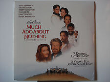 Much Ado About Nothing 1993 LaserDisc NEW Michael Keaton - Keanu Reeves - Denzel