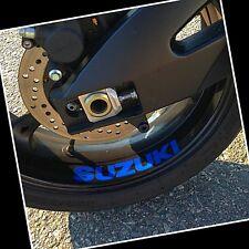 REFLECTIVE Suzuki srad 750 gsxr 600 katana 1000 sv blue rim 650 sv Hayabusa sfv