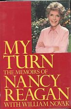 Nancy Reagan  Signed  My Turn - 1989  1st. Ed