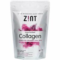 Zint Collagen Hydrolysate Pure Protein 10 oz 283 g Dairy-Free, Gluten-Free,