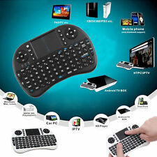 Android TV BOX USB Wireless Black Keyboard I8 Mouse Remote Control Touchpad