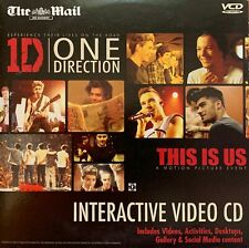 1D ONE DIRECTION MUSIC CD THIS IS US INTERACTIVE VIDEO CD